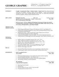 Free Resume Templates For University Students Freeresumetemplates