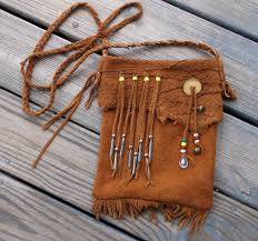 Neuman Christmas Tree Bags by Traditional Native American Style Mountain Man Possibles Bag Or