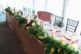 Head Table Greenery Garland