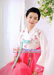 Korean Hanbok Costumes Ladies Fashion Clothes Traditional Dresses