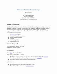 Cover Letter Jcpenney Sales Associate Resume Examples Inspirational Retail Job