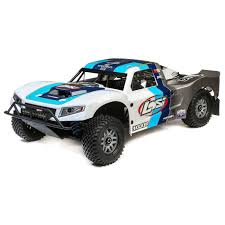 100 Losi Trucks 15 5IVET 20 4WD Short Course Truck Gas BND GreyBlueWhite