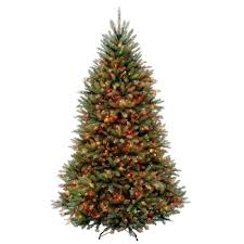 Spiral Lighted Christmas Tree by Pre Decorated Pre Lit Christmas Trees Artificial Christmas