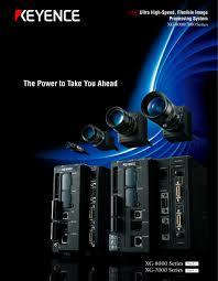 Keyence Light Curtain Manual Pdf by Ultra High Speed Flexible Image Processing System Xg 8000 7000