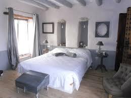 chambre de charme chambre déco gris ambiance couleurs