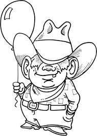 Coloring Pages Cowboy And Indian Free Impressive Boot Page Theme