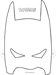 Gallery Batman Mask Cut Out Template DRAWING ART GALLERY
