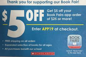 Reminder: Middle School Scholastic Book Fair Redeem Profit Through The Scholastic Dollars Catalog Ebook Sale Jewelry Online Free Shipping Reading Club Tips Tricks The Brown Bag Teacher Books Catalogue East Essence Uk Following Fun Book Orders And Birthdays Canada Posts Facebook Lime Crime Promo Codes 2019 Foxwoods Comedy Show Discount Code Connect For Education Promo Code Clubs Childrens Books For Parents Virgin Media Broadband