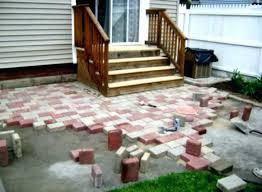 Backyard Flooring Cheap Outdoor Options Patio Ideas