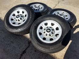 100 Oem Chevy Truck Wheels 18 Silverado GMC Sierra 2500 3500 OEM Rims Tires 8096
