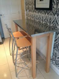 Kitchen Breakfast Bar Table And Stools Decor Pertaining To Ebay Plan
