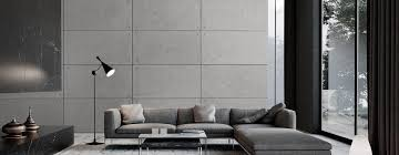 stylische wandplatten aus beton homify