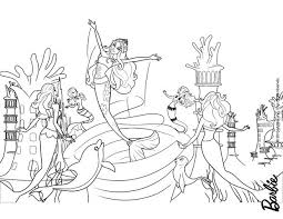 Merliah Out Of The Whirlpool Barbie Coloring Page More Mermaid Content On Hellokids