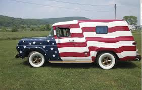 Patriotic Ford Panel Truck Shines At Independence Day Parades ... 1959 Ford Panel Van Chevy Apache For Sale 55 59 Chevrolet Task Force Mercury M Series Wikipedia F100 Stock Photos Images Alamy Hemmings Find Of The Day 1958 Panel Van Daily Ford 12 Ton Panel Delivery Truck Truck For Classiccarscom Cc1114838 1957 1960 Fridge Engine Joe Restoration Retyrd Photo Image Gallery Sneak Peek Alert This Truck Is Currently Shifting Home Farm Fresh Garage