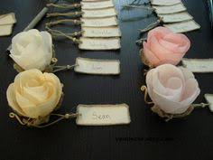 Table Name Card Holders Set Of 15 Rustic Heart Place By VENDecor