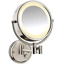 conair sided lighted wall mount mirror walmart