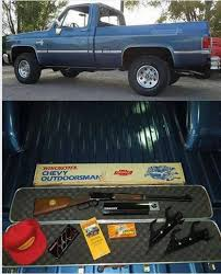 100 Chevy Special Edition Trucks The Outdoorsmans Package Range365