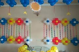 Balloon Decorations Ideas For Birthdays Decoration On Wall House Interiors