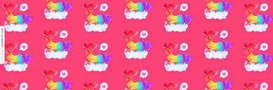 Dreamy Rainbow Unicorn Askfm Background