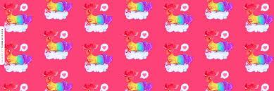 Dreamy Rainbow Unicorn Askfm Background