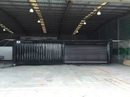 100 Shipping Container Flooring 40ft Modified With Roller Door And Awning