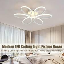 aluminium led deckenle dimmbar hängeleuchte kronleuchter schlafzimmer einbau