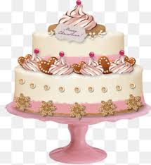 Pink birthday cake Cake Birthday Cake Pink Cake PNG Image