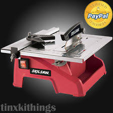 Ridgid 7in Tile Saw With Laser by Ceramic Tile Saw Ebay