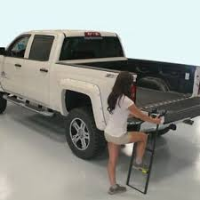 Truck Bed Step Ladder S L 300 Gorgeous Tailgate Cargo Liftgate Side ...