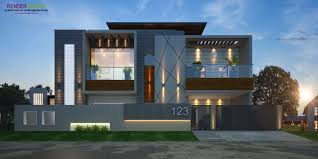 100 Contemporary Bungalow Design Modern Elevation Rendring Render World In 2019 House