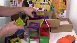 Picasso Magnetic Tiles Uk by Unboxing And Review Of Playmags 100 Piece Magnetic Building Blocks