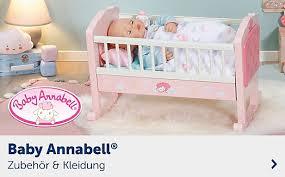 baby born annabell zapf creation kaufen mytoys