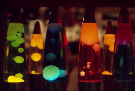 Beatles Help Lava Lamp by Rainbow Lava Lamps