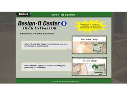 deck estimator at menards