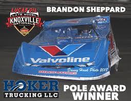 100 Sheppard Trucking Knoxville Raceway On Twitter Congratulations To Brandon