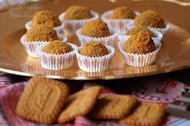 recette avec des oeufs dessert truffe chocolat spéculoos sans oeufs aux delices du palais