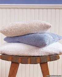 Terry Cloth Lounge Chair Covers With Pillow by Summer Sewing Projects Martha Stewart