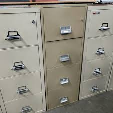 schwab 4 drawer vertical fireproof file cabinet dark putty tan