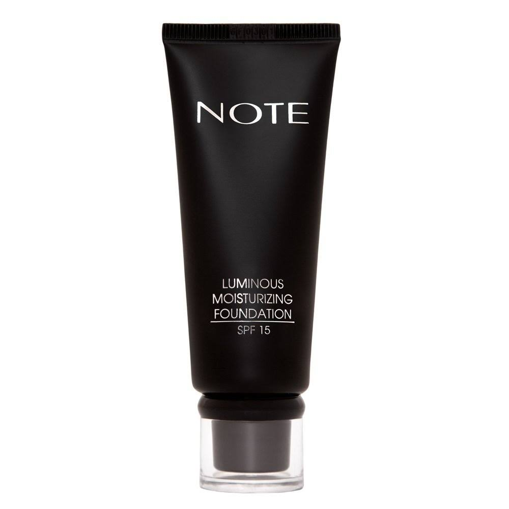 Note Cosmetics Luminous Moisturizing Foundation Tube - 07 Apricot