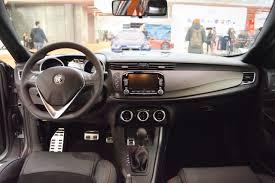 Alfa Romeo Giulietta Veloce interior dashboard at 2016 Bologna
