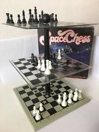 Image Is Loading SPACE CHESS Board Game Complete VINTAGE RARE Pacific