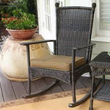 Front Porch Rocking Chairs Outdoor Wicker Rocking Chairs ...