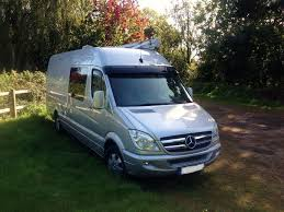 Mercedes Sprinter Camper Conversion Van Sports Motorhome Dorset