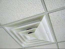 Drop Ceiling Vent Deflector by Airvisor Air Deflector For Square 24