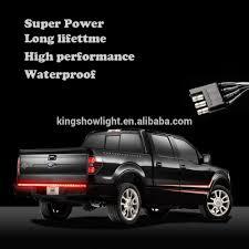 100 Truck Tailgate Light Bar 48 Led Turn Signal Red Strip For Dodge Ram