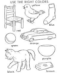 Early Elementary Color By Number Coloring Page For Kids 004