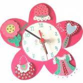 horloge chambre bébé horloge enfant billes de clowns