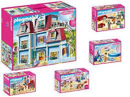 puppenhaus playmobil dollhouse 3er set 70206 70207 70208