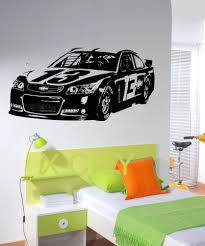 Wall Mural Decals Cheap by Online Get Cheap Nascar Wall Stickers Aliexpress Com Alibaba Group