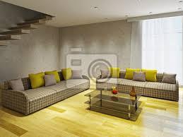 wohnzimmer mit zwei sofas bilder myloview